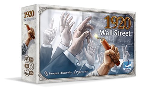 Looping Games-1920 1920: Wall Street, Multicolor (004WAL01)