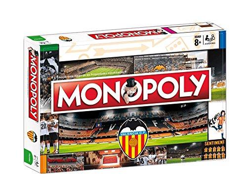 Valencia CF Monopoly (81410), Multicolor, Ninguna