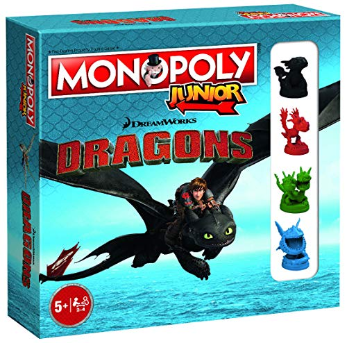 Dragons Monopoly Junior How to Train Monopoly Board Game