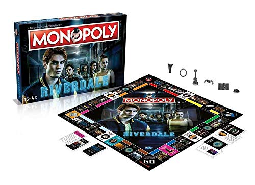 Winning Moves Riverdale Board Game Monopoly *English Version* Games Accessories