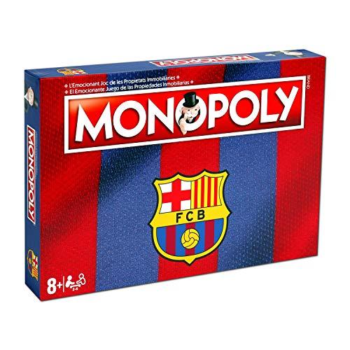 Winning Moves Monopoly FC Barcelona (10537), Multicolor