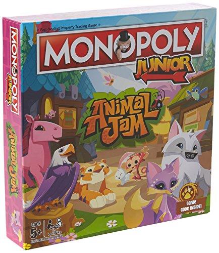 Winning Moves Animal Jam Junior Monopoly Board Game