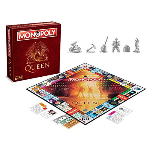 Monopoly - Oficial queen - merchandising música, Inglés