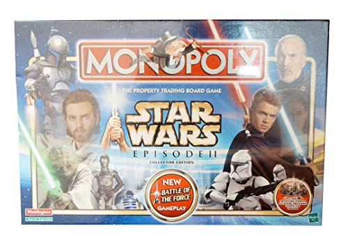 Waddingtons Board Game 47164 - Monopoly Star Wars Episode II Collector Edition