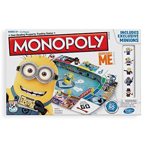 Hasbro Monopoly - GRU, Mi Villano Favorito A2574 (versión en inglés)