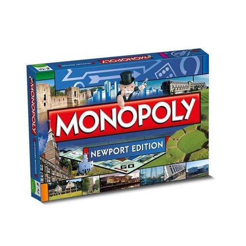 Monopoly - Juego de Tablero, de 2 a 6 Jugadores (Winning Moves 22842) (Importado)