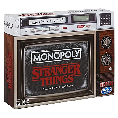 Hasbro Stranger Things Board Game Monopoly Collectors Edition *English Version*