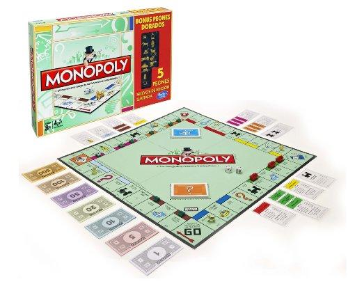 Monopoly - Golden Token, Juego de Estrategia (Hasbro A3856105)