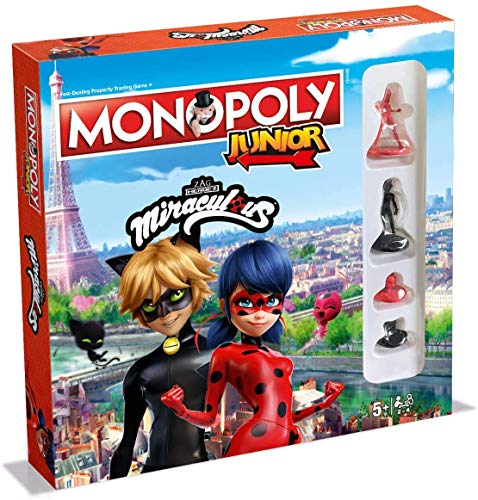 Winning Moves Miraculous Monopoly Junior Board Game - English Version