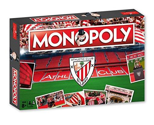 Athletic Club Bilbao Monopoly Athlétic Club (81120), Multicolor, Ninguna (Eleven Force