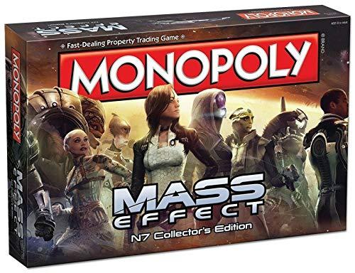 Monopoly 002572 Mass Effects - Juego de Mesa [en inglés], Multicolor