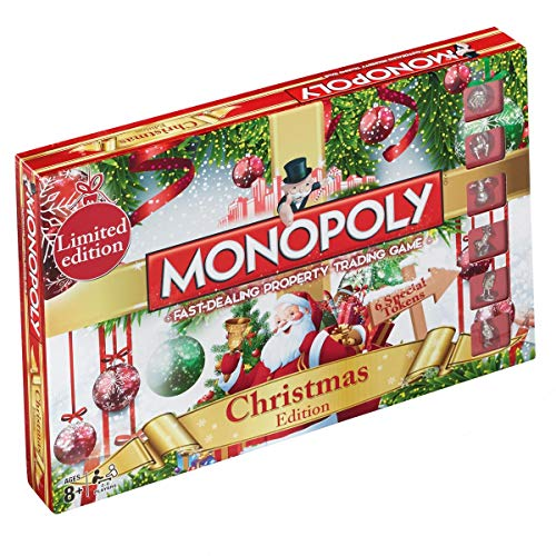 Limited Edition Christmas Monopoly by Christmas