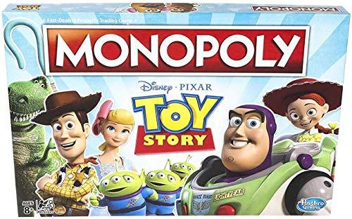 Monopoly Toy Story - Juego de Mesa para Familia y niños Mayores de 8 años
