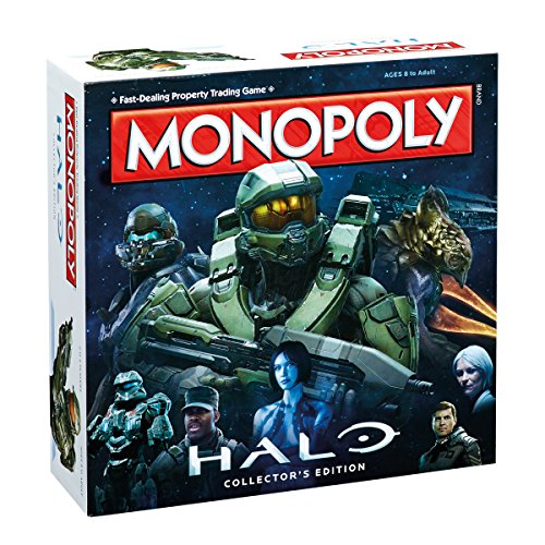 Halo Monopoly Board Game