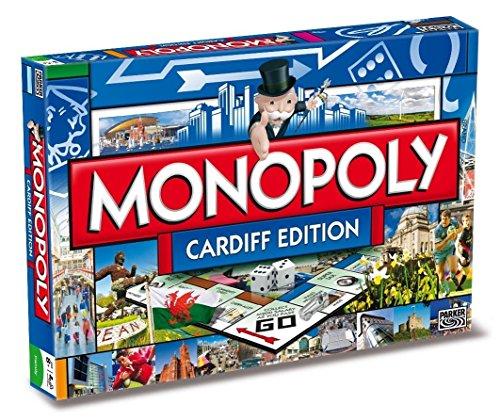 Cardiff Monopoly Board Game (versión en inglés)