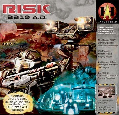 Avalon Hill- Risk 2210 AD - Resized (Inglés) (Milton Bradley 86600000B)