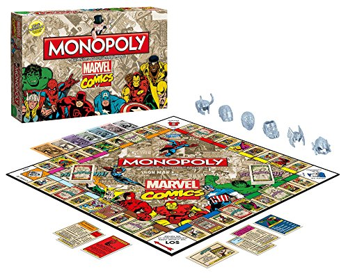 Monopoly Marvel Comics Retro