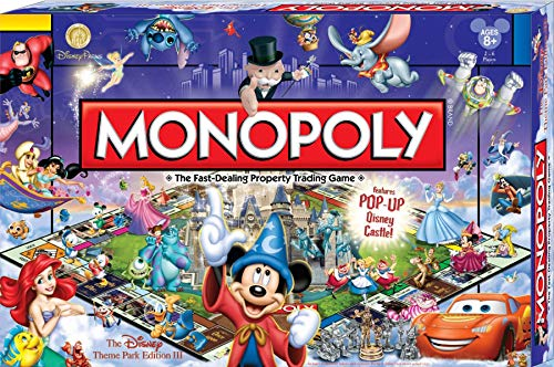 Monopoly Disney theme park edition latest edition released in Japan yet (japan import) by Disney
