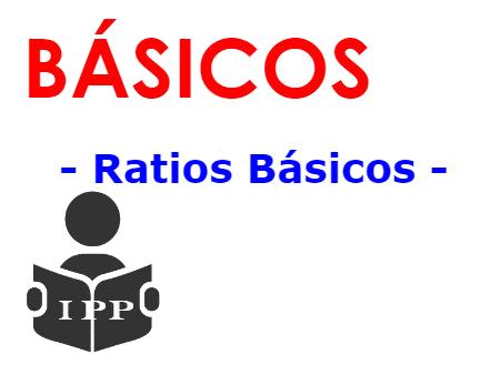 ratios básicos