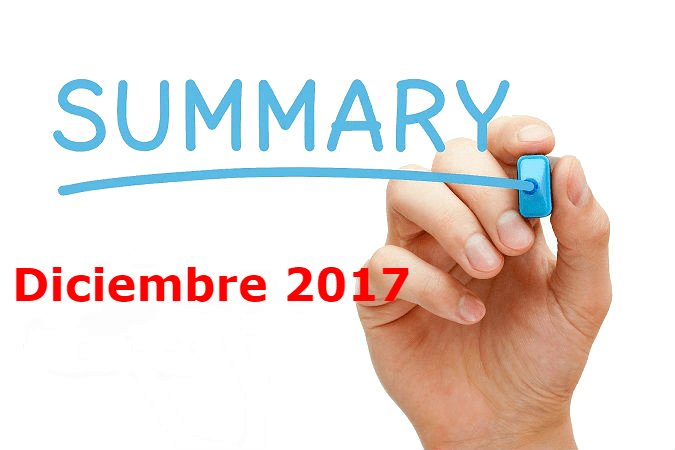 resumen de Diciembre 2017