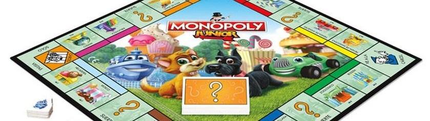 Juego de mesa Monopoly Junior Portada
